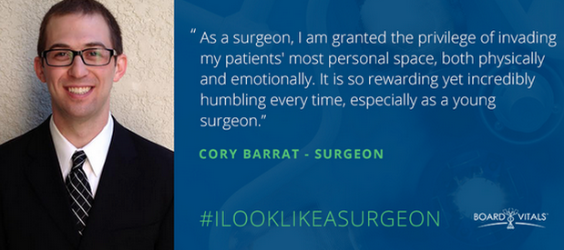 I Look Like A Surgeon: Cory Barrat