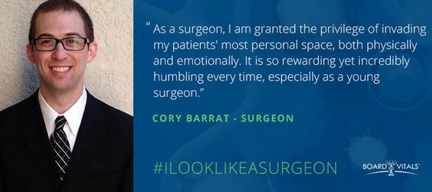 I Look Like A Surgeon: Cory Barrat