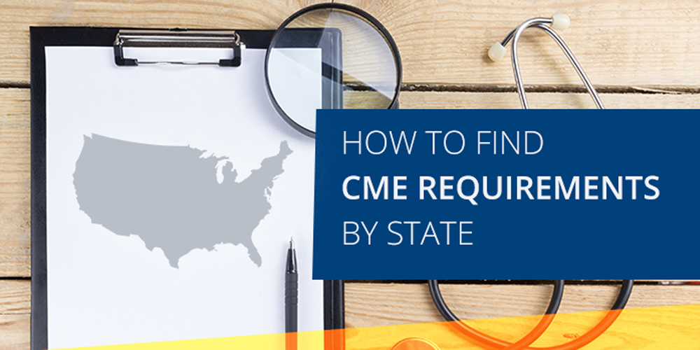 How To Find CME Requirements By State