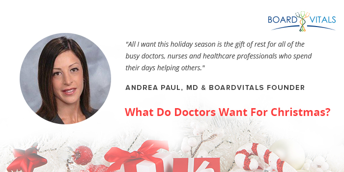 What Do Doctors Want For Christmas?