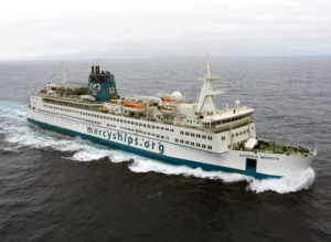 Mercy Ships Traveling to Africa