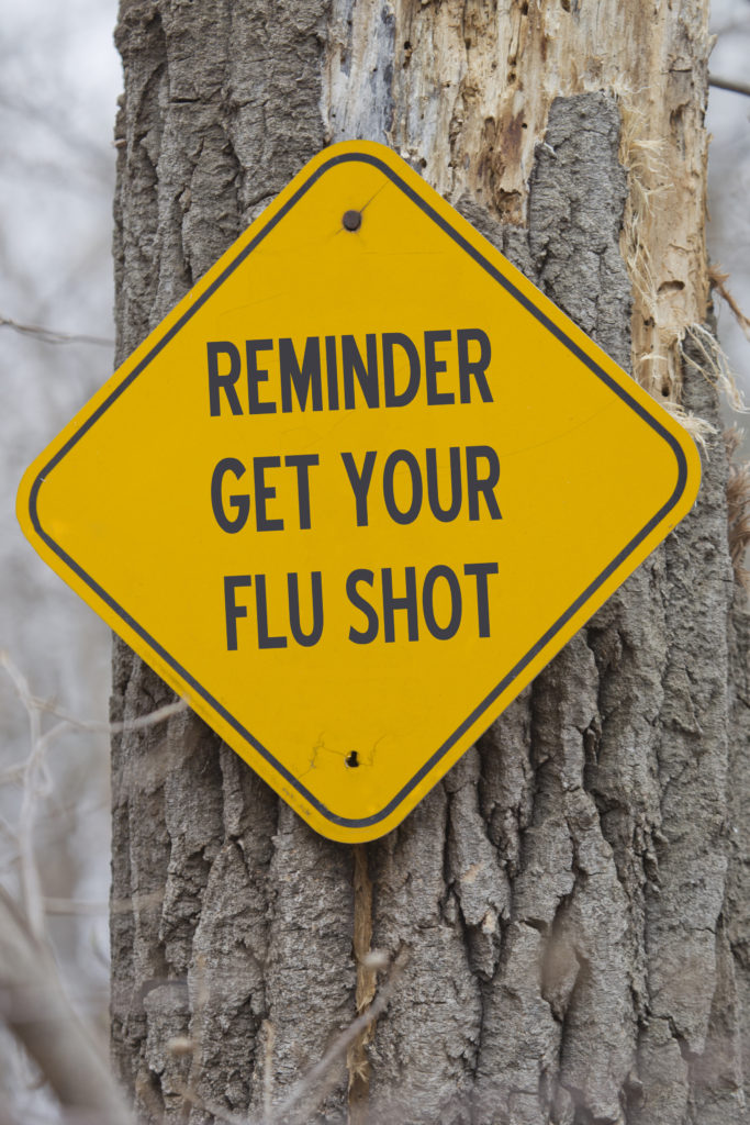Flu Shot Social Reminder