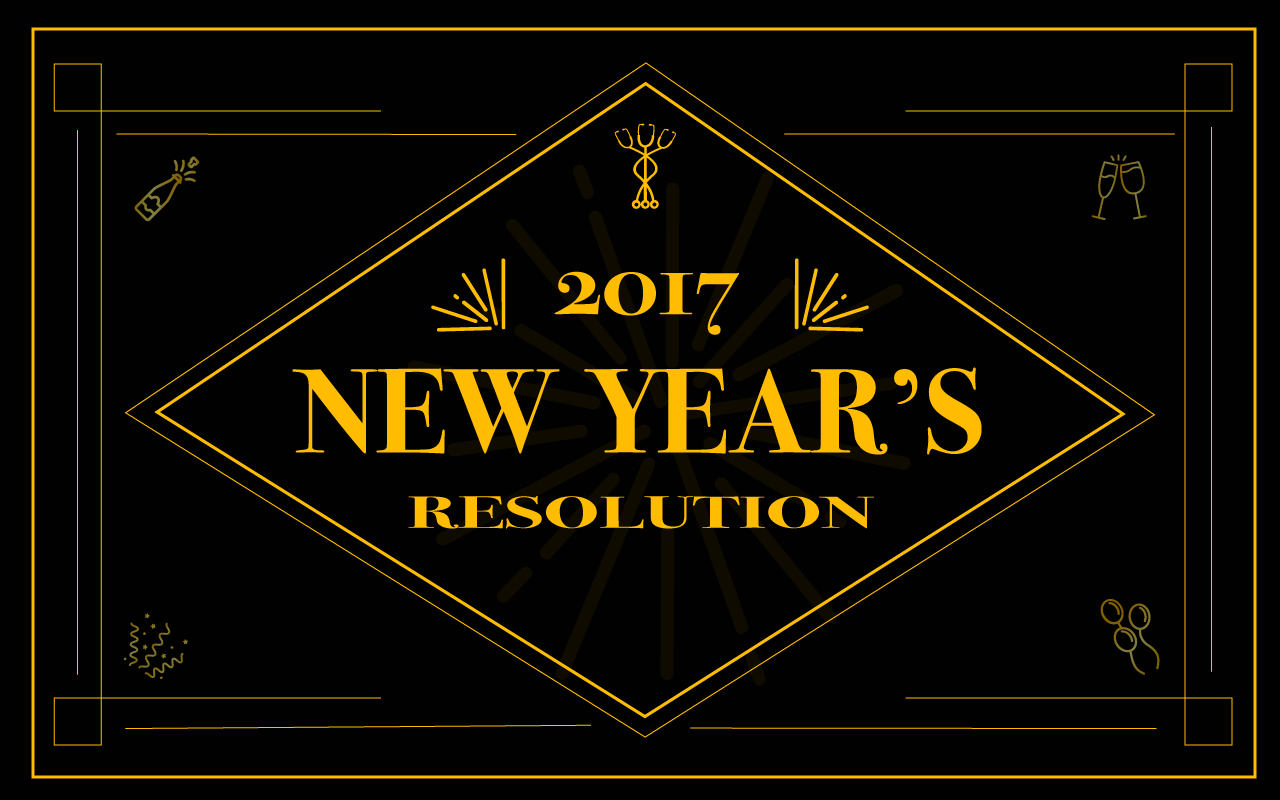 What Are Your 2017 New Year's Resolutions?