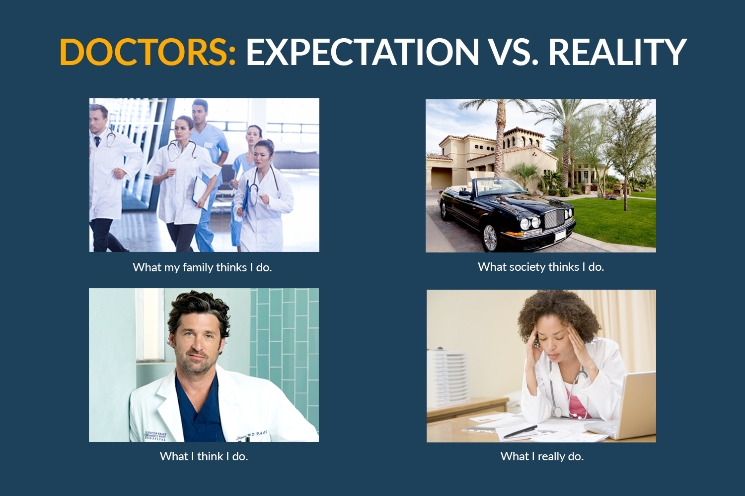 Becoming A Doctor: Expectation vs. Reality