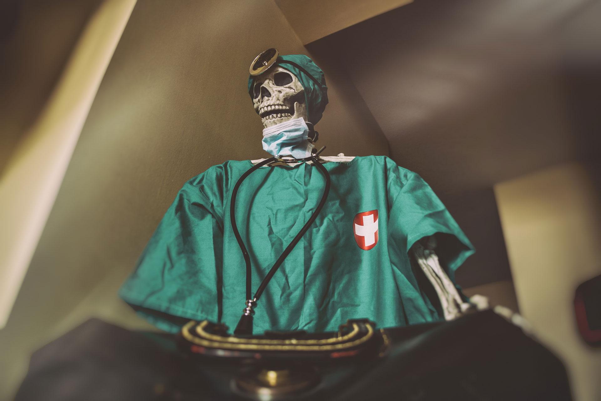 halloween emergency room