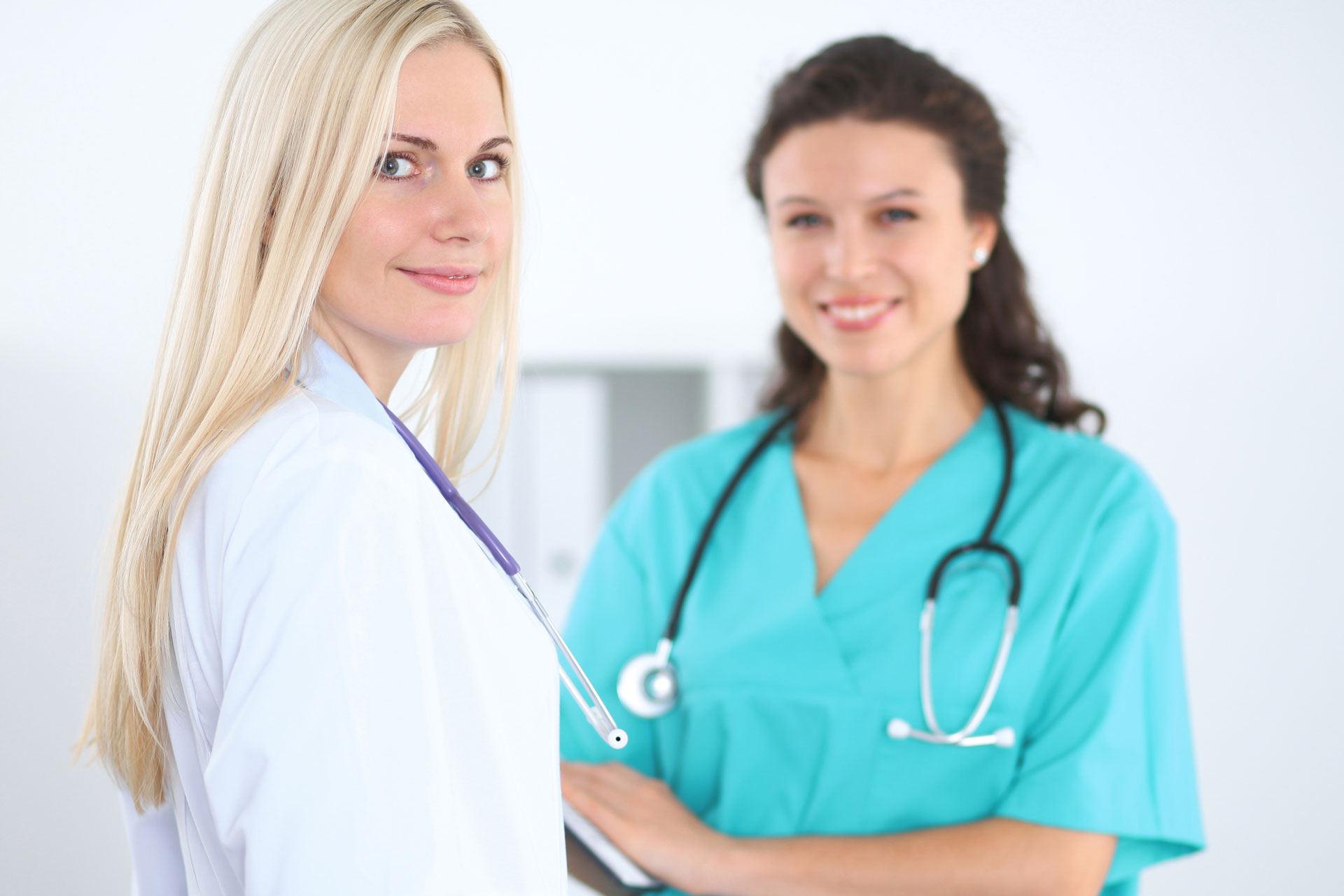 Nurse Practitioner Working