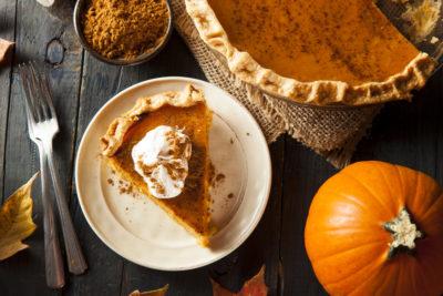 thanksgiving foods pumpkin pie