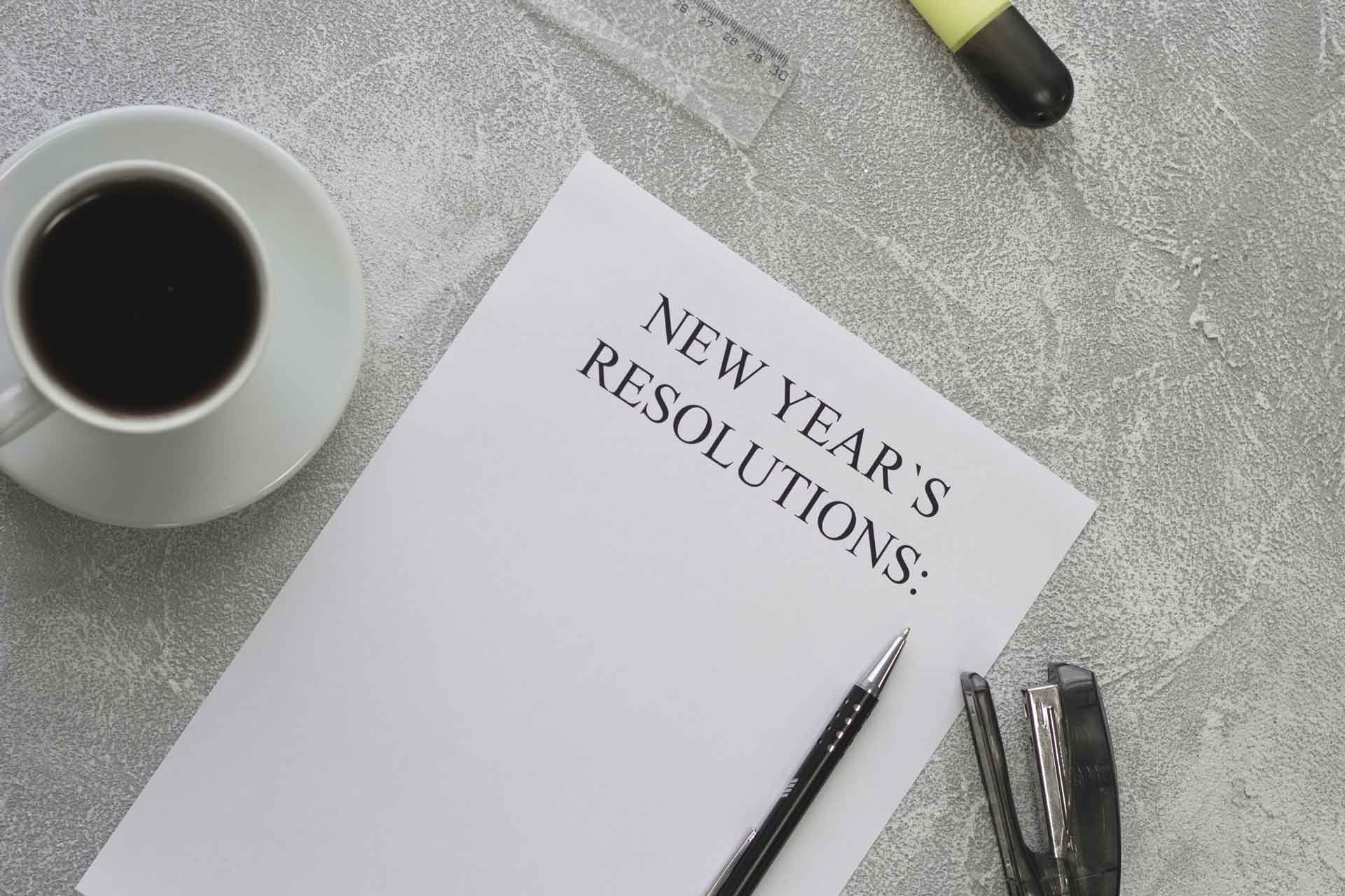 New Year's Resolutions Trends: What Doctors Resolve To Do