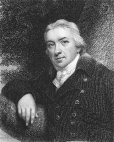 Dr. Edward Jenner, pioneer of smallpox vaccine
