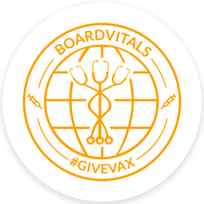 BoardVitals #GiveVax logo