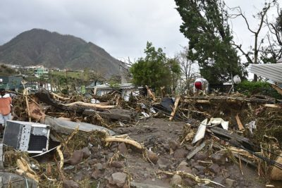 Aftermath of Hurricane Maria in the Commonwealth of Dominica