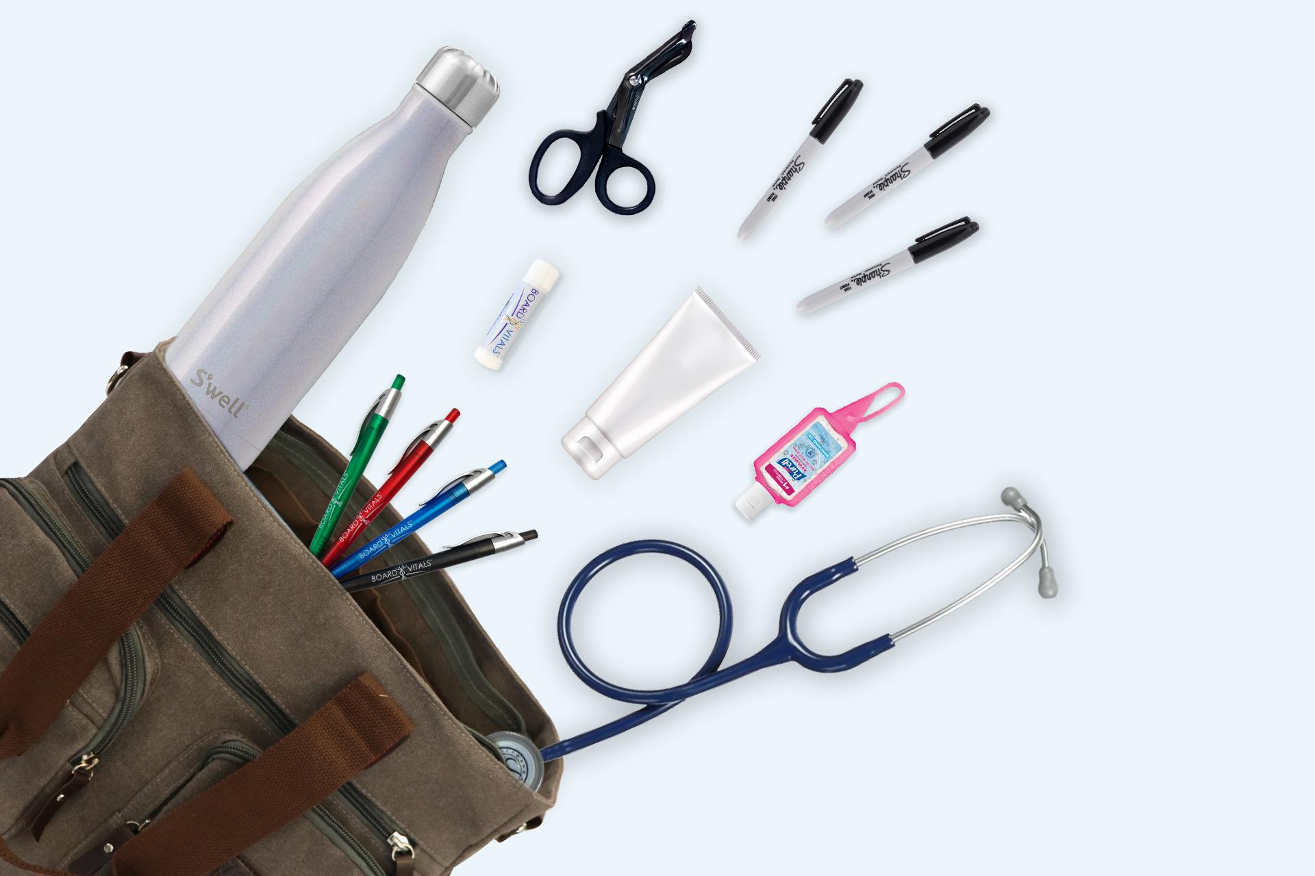The Essential Items Nurses Keep In Their Nursing Bags