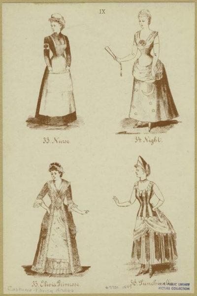 nurse uniform from 1880.