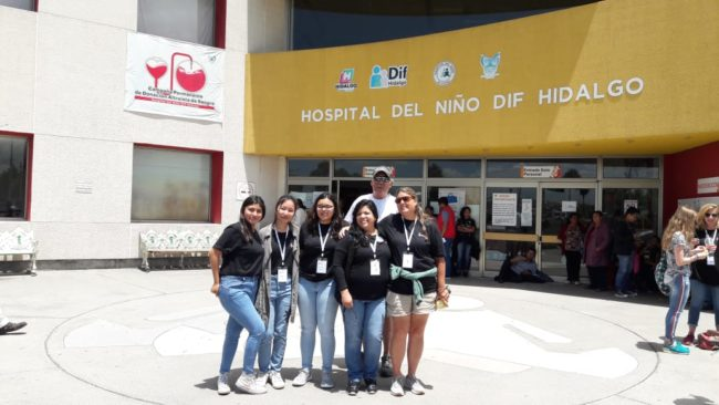 smile train hospital visit