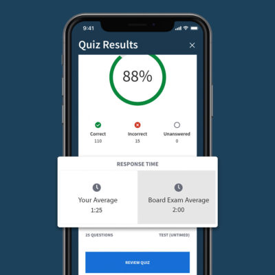 boardvitals app answer response time