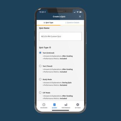 boardvitals app quiz types