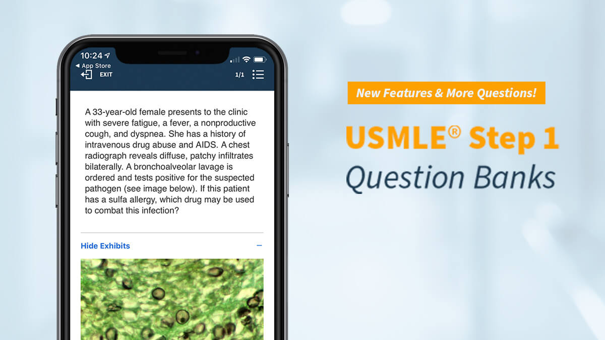 BoardVitals USMLE® Step 1 Question Bank: New Features and More Questions