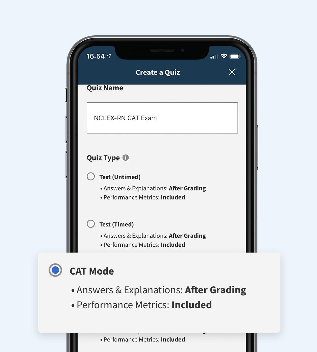 nclex cat quizzes