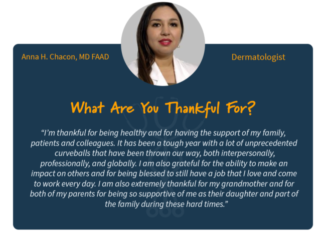 Dr. Anna H. Chacon, MD FAAD