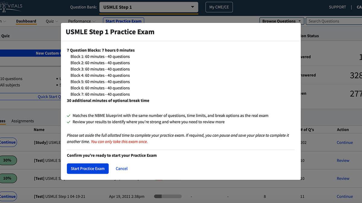 board exam practice start